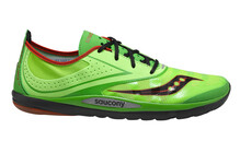 saucony Men's Hattori LC green/red